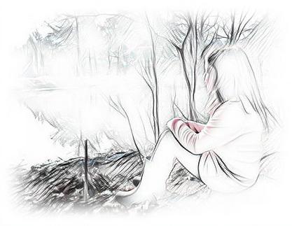 Pond Digital Art - Girl By The Pond by Dene Brock