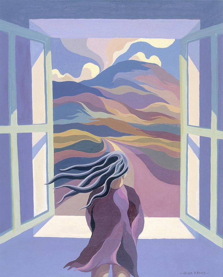 Image result for window girl painting