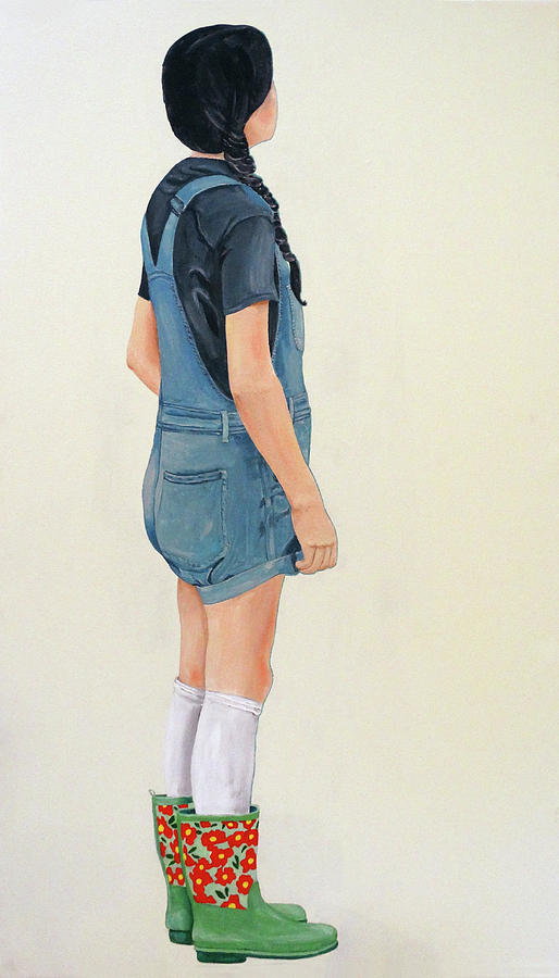Girl in Green Boots by Kevin Callahan
