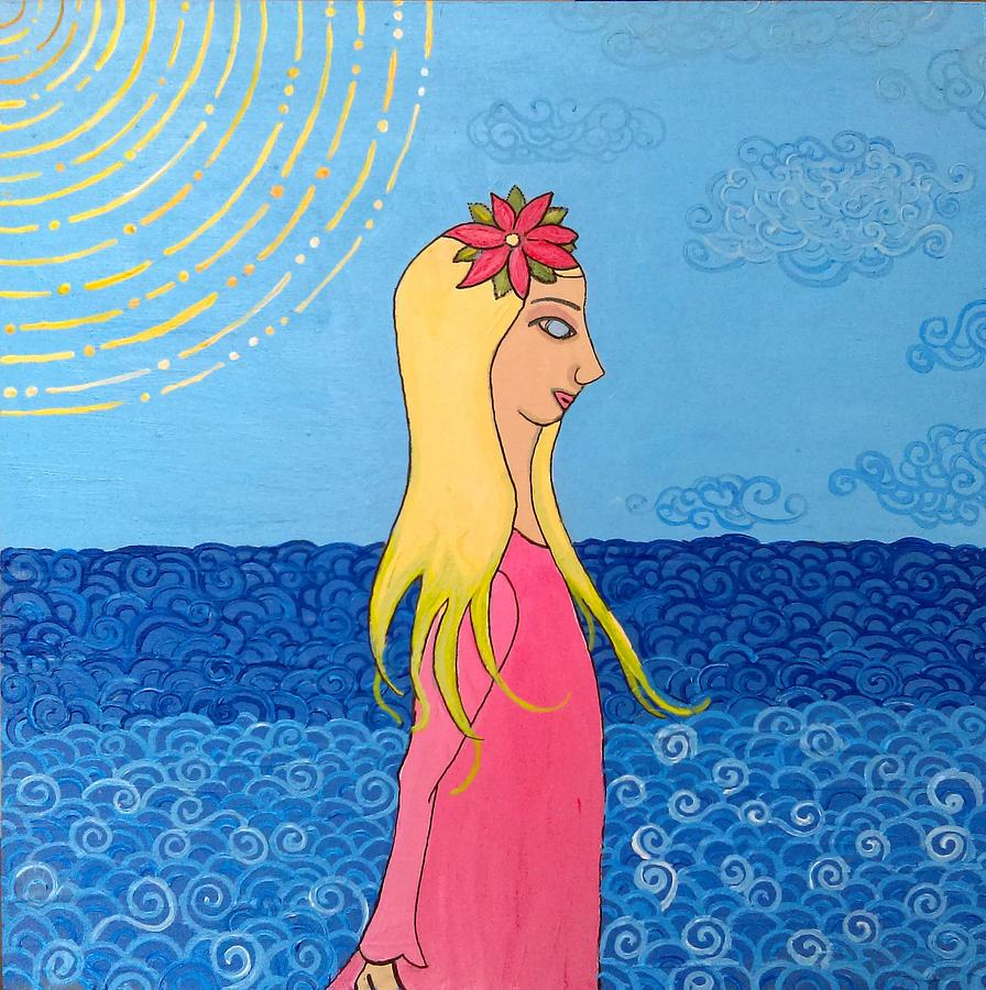 Girl in the Water by Caroline Sainis