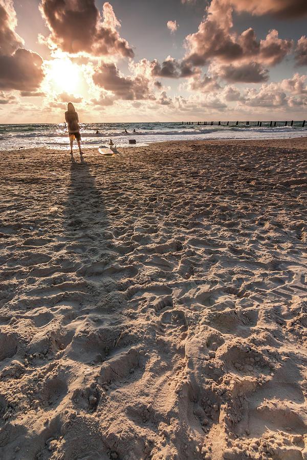 Girl Photograph - Girl On The Beach by Yatir Nitzany