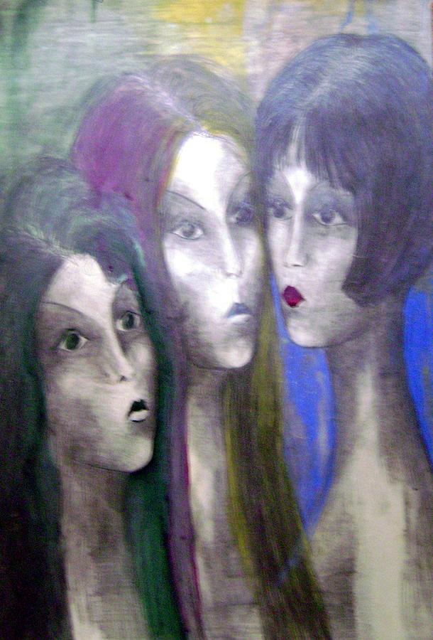 Colour Painting - Girl by Wojtek Kowalski