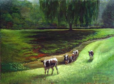 Girls Gone Wild  Painting by Jeanie Chadwick