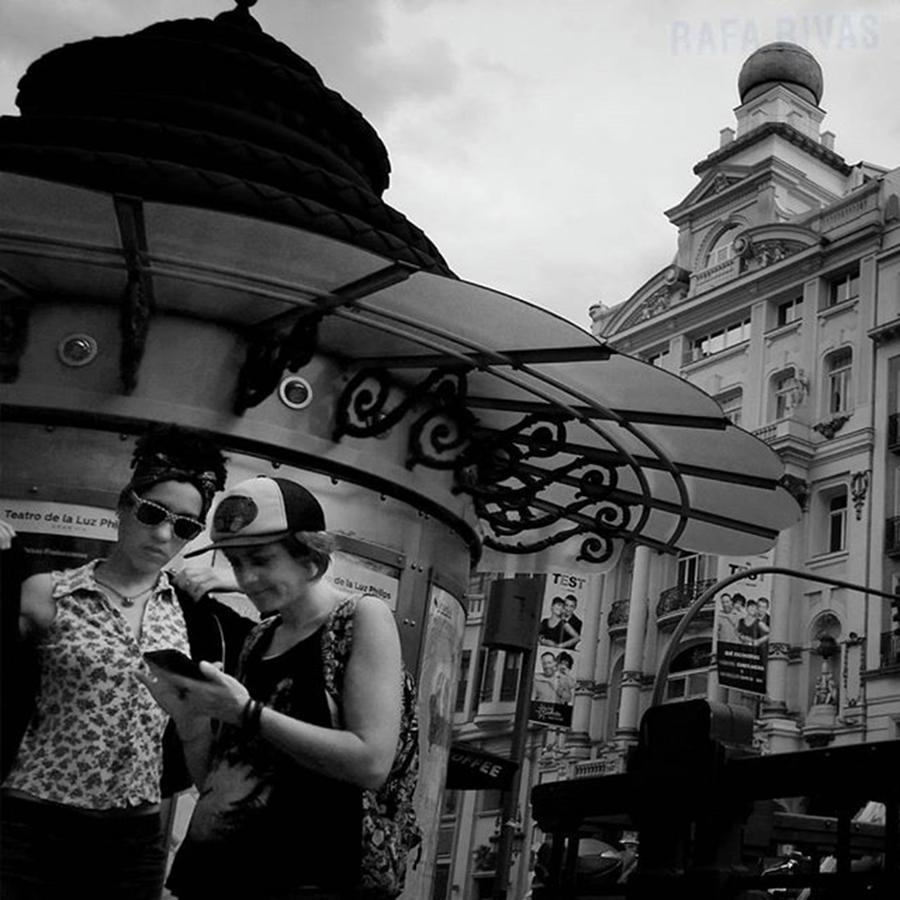 Citylife Photograph - #girls #womem #people #instapeople by Rafa Rivas