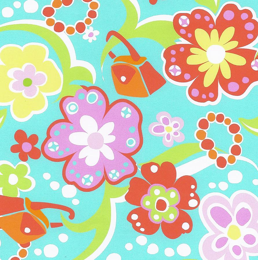 Girly Print by Mary Maguire