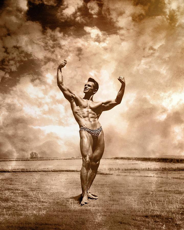 Vince Gironda Photograph - Gironda Fine Art by Male Vision