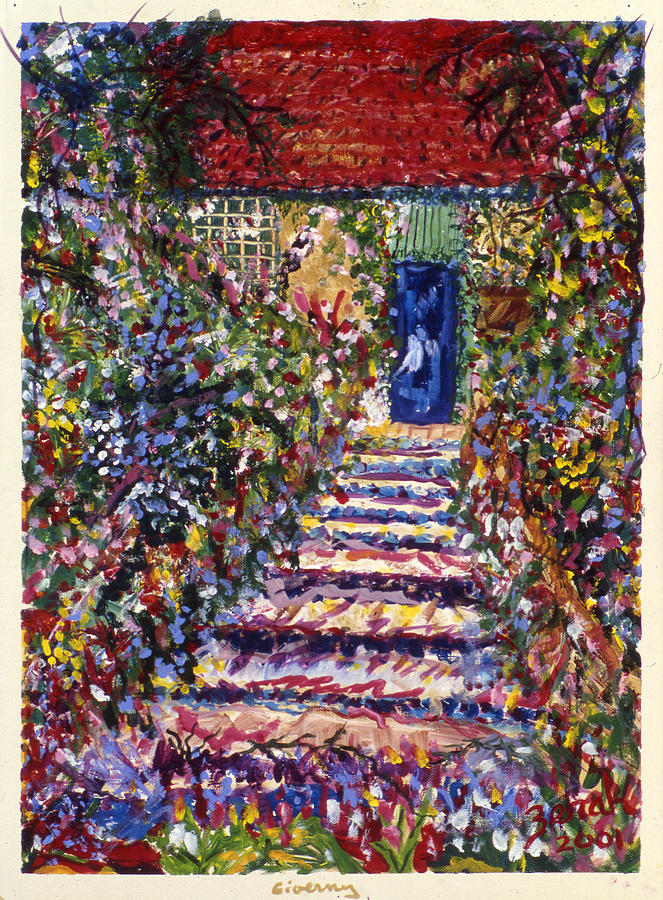 France Painting - Giverny by Lorin Zerah