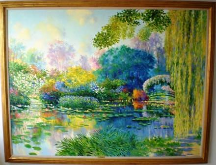 Landscape Painting - Giverny by Claude CAMBOUR