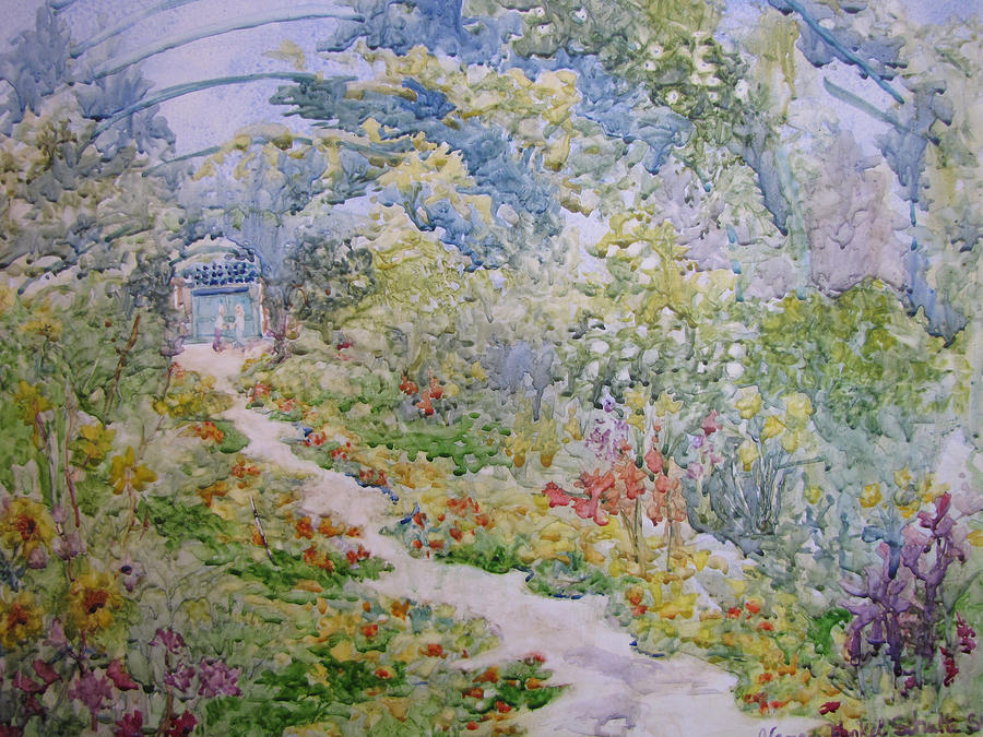 Giverny Painting - Giverny by Nancy Henkel Schulte