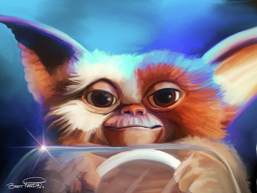 Gizmo Painting By Brett Hardin