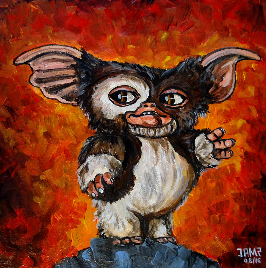 Gizmo Painting - Gizmo by Jose Mendez