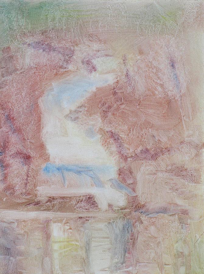 Glacier Painting - Glacier Falls by Robert Bissett