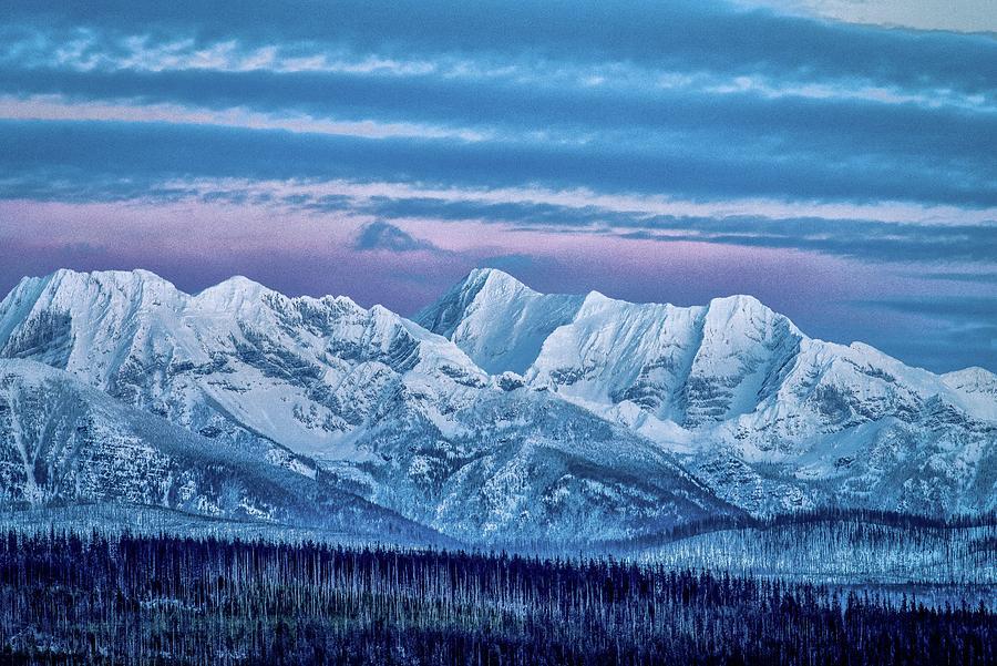 Glacier National Park Photograph - Glacier Glow, Glacier National Park  by Greg Wyatt
