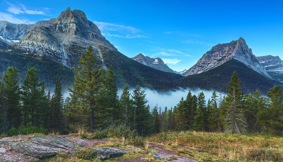 Mountains Photograph - Glacier Mountains by Stuart Deacon