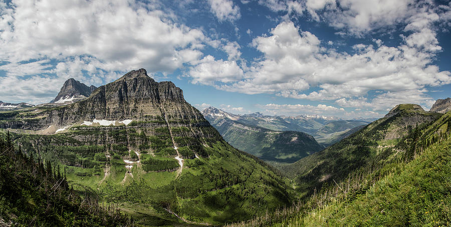 Glacier National Park High-line Trail 1 by John McGraw