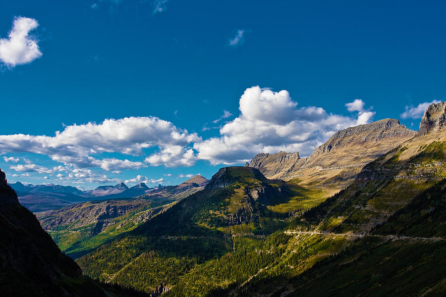 Landscape Photograph - Glacier National Park by Jon Woodbury