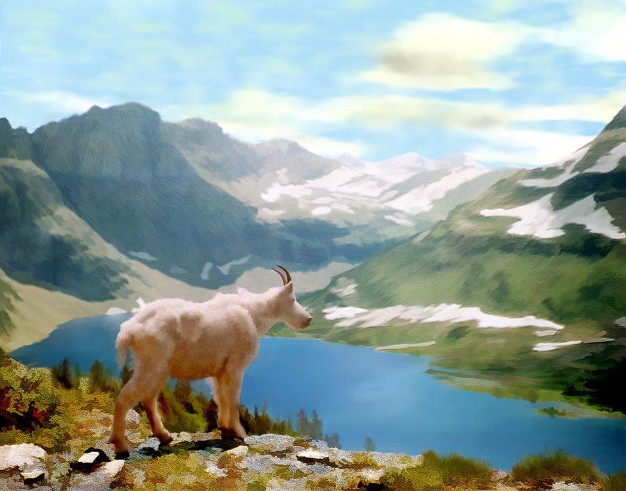 Landscape Photograph - Glacier National Park by Kurt Van Wagner
