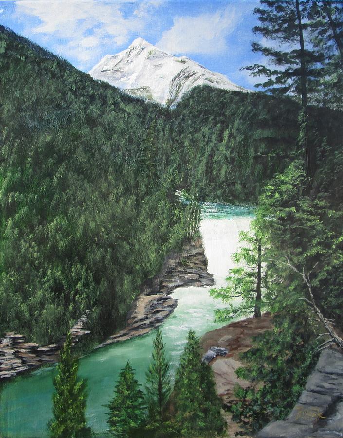 Glacier National Park by Robert Clark