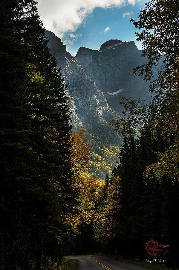 Mountains Photograph - Glacier National Park by Roy Nierdieck