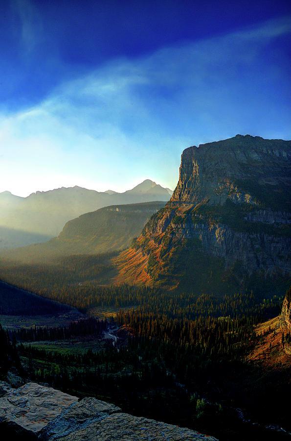 Mountain Photograph - Glacier Park by Roy Nierdieck