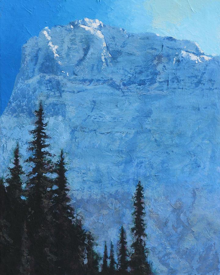 Glacier Painting - Glacier Peak II by Robert Bissett