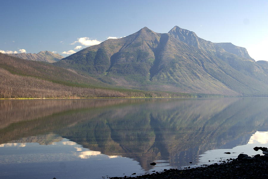 Glacier National Park Photograph - Glacier Reflection1 by Marty Koch
