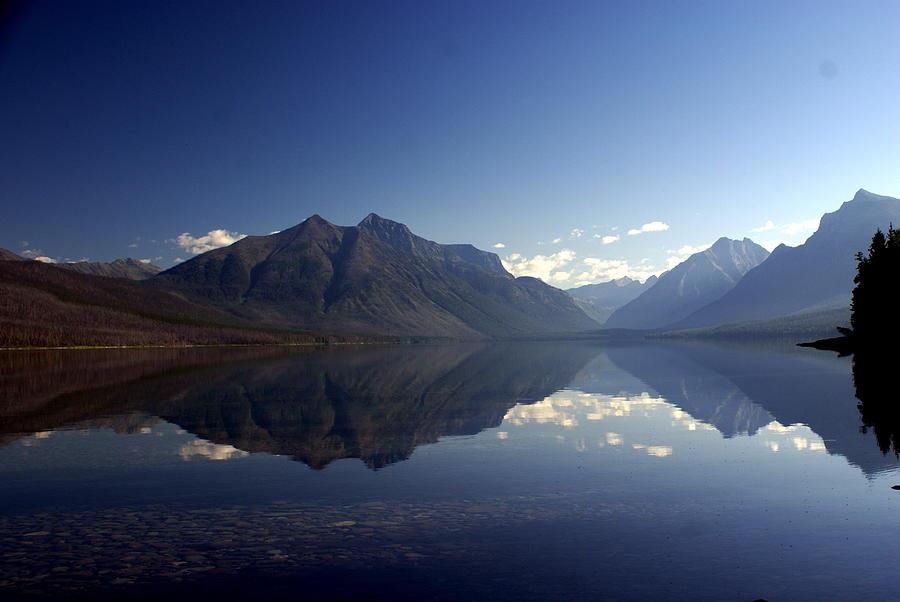Glacier National Park Photograph - Glacier Reflections 2 by Marty Koch