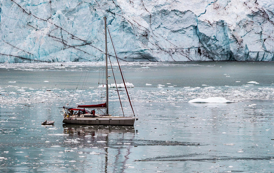 Glacier Sailing by Ed Clark