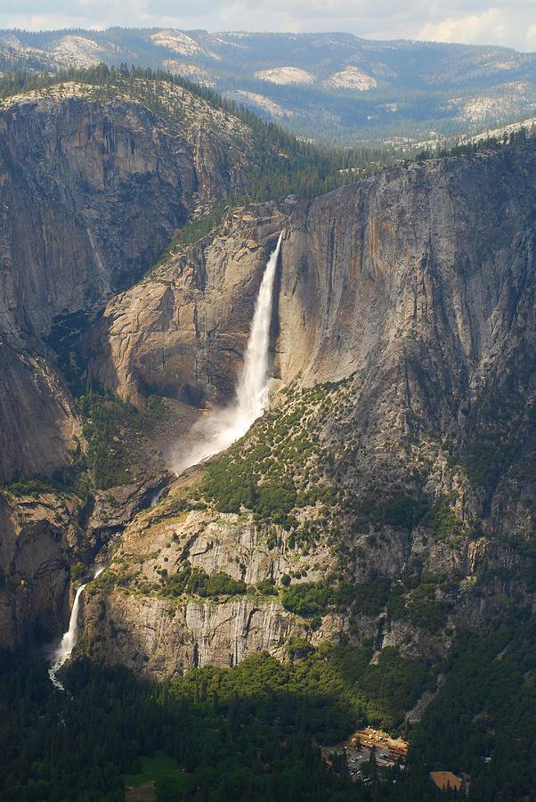 Nature Painting - Glacierpoint Yosemitefalls by YosemiteFalls