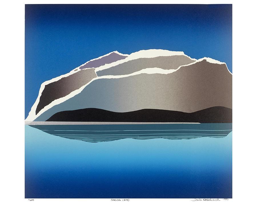 Landscape Mixed Media - Glaciers by Jarle Rosseland