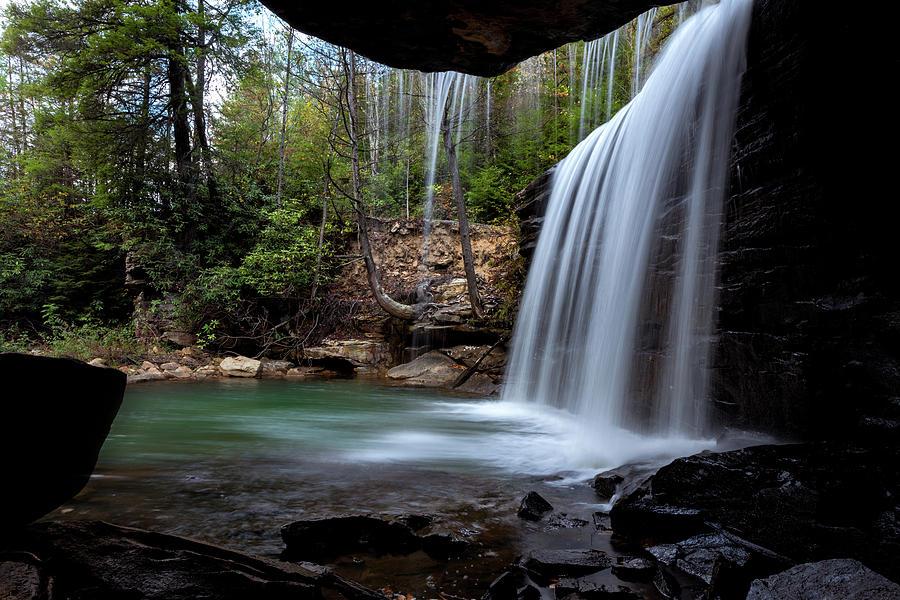 Glade Creek Falls Photograph