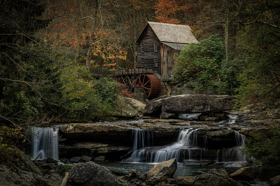 Glade Creek Grist Mill by Jonas Wingfield