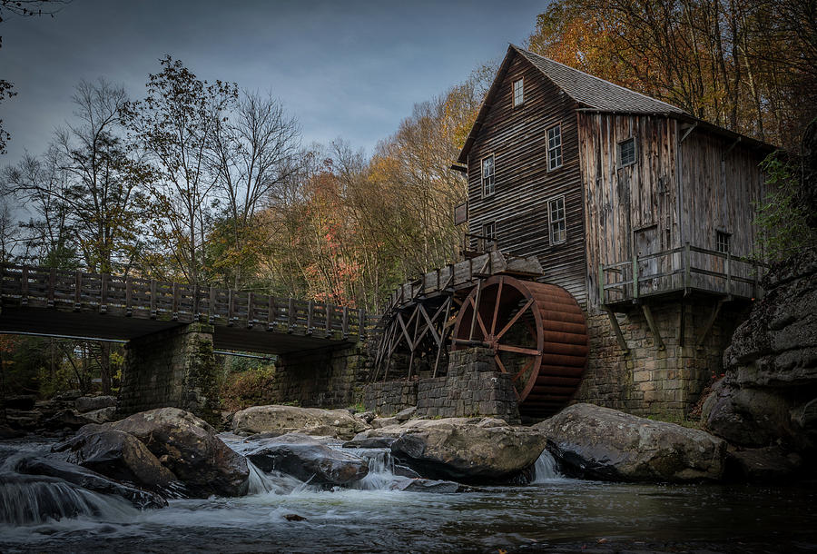 Glade Creek Water Wheel by Jonas Wingfield
