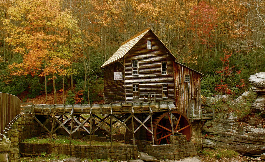 Glade Grist Mill Photograph