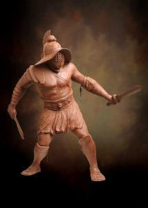 Warriors Sculpture - Gladiator by Tom White