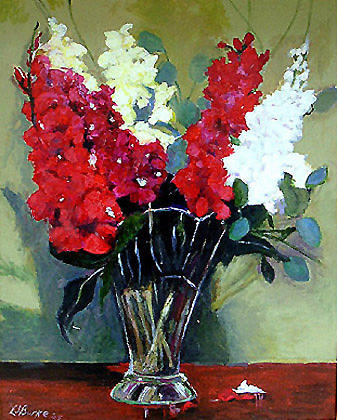 Gladlife Painting by Larry Burke