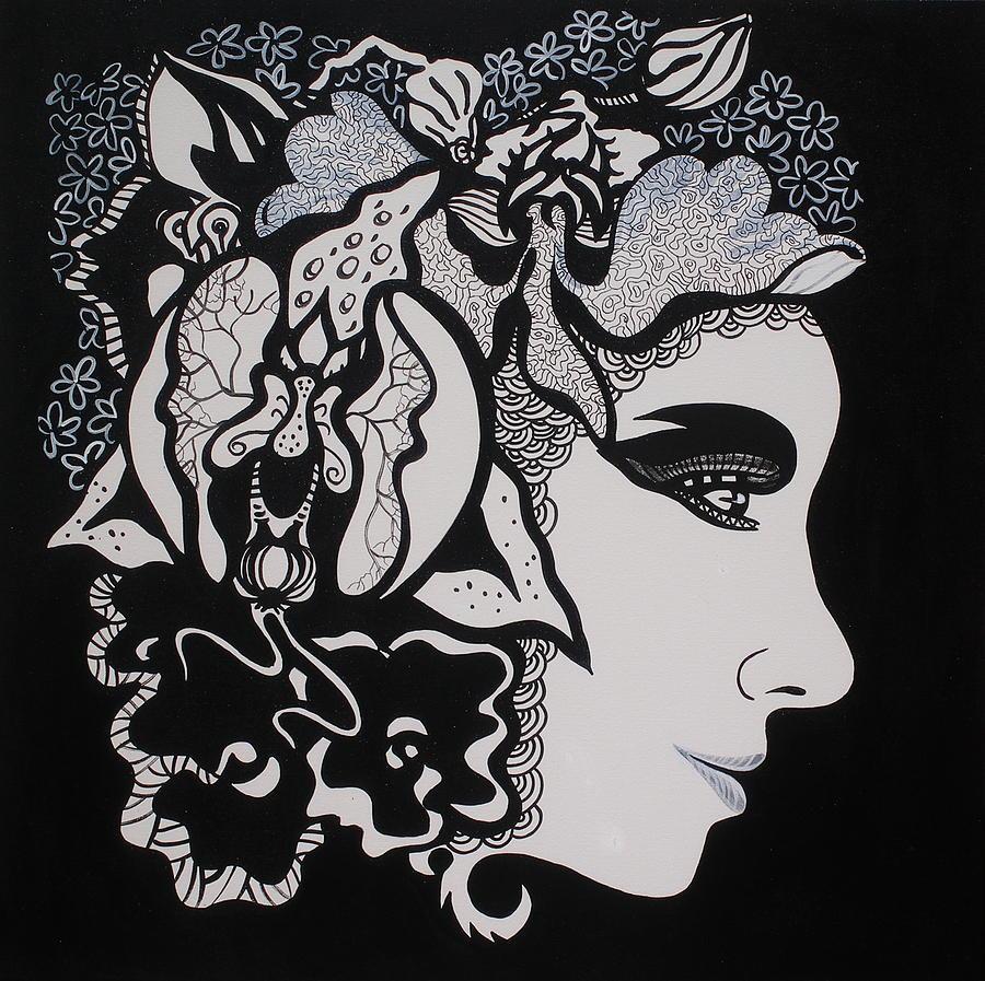 Woman Painting - Glafira Rosales by Yelena Tylkina