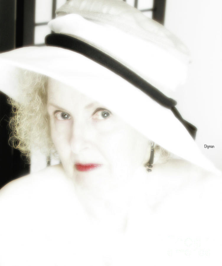 Beauty Photograph - Glamor By Age by Steven Digman