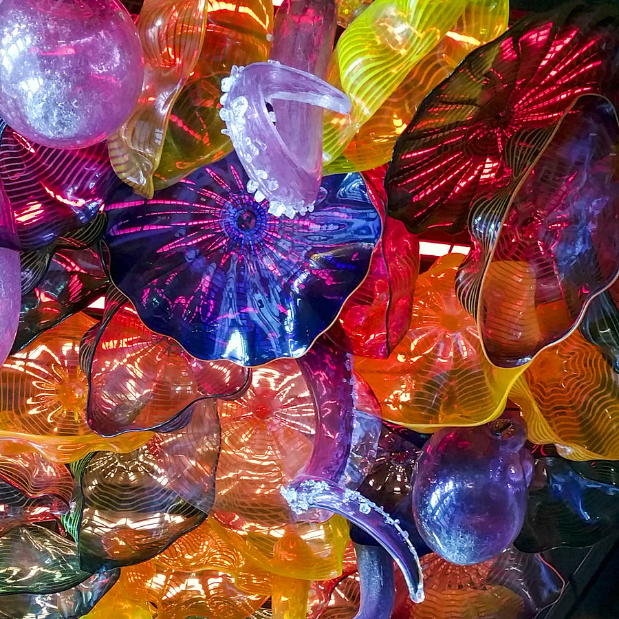 Glass Abstraction by Lynn Palmer