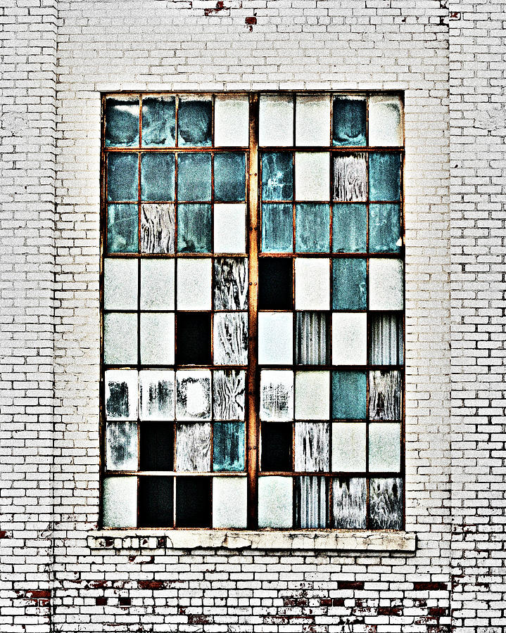 Glass and Brick by CE Haynes
