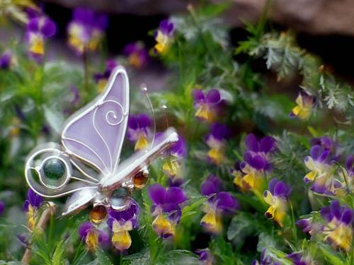 Butterflies Photograph - Glass Butterfly by Catherine Kelly