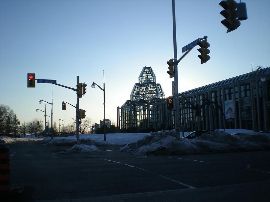 Ontario Photograph - Glass Dome by Shigeo Akiyama