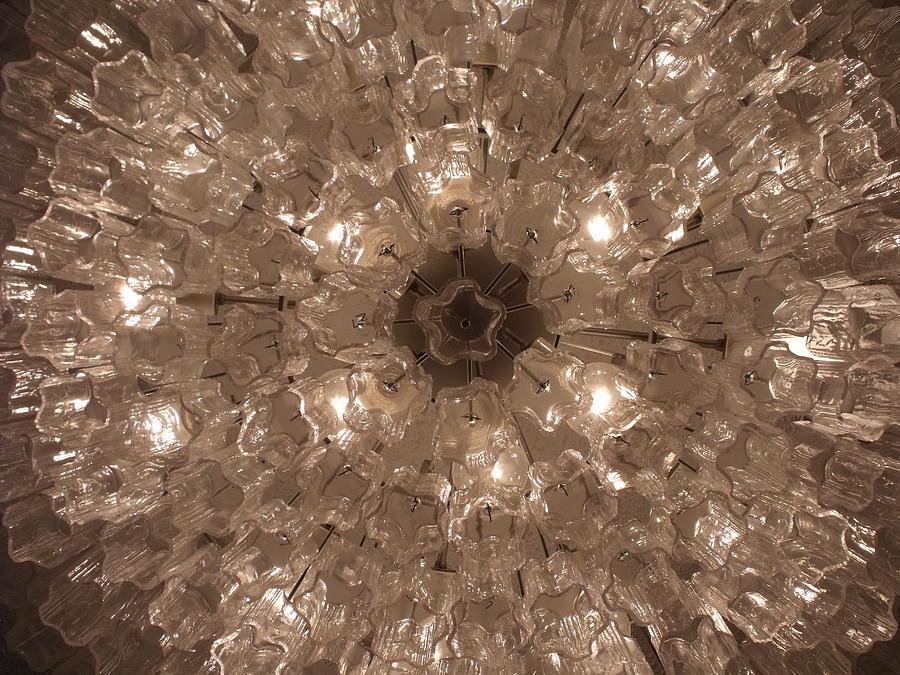 Glass Photograph - Glass Flower by Anna Villarreal Garbis