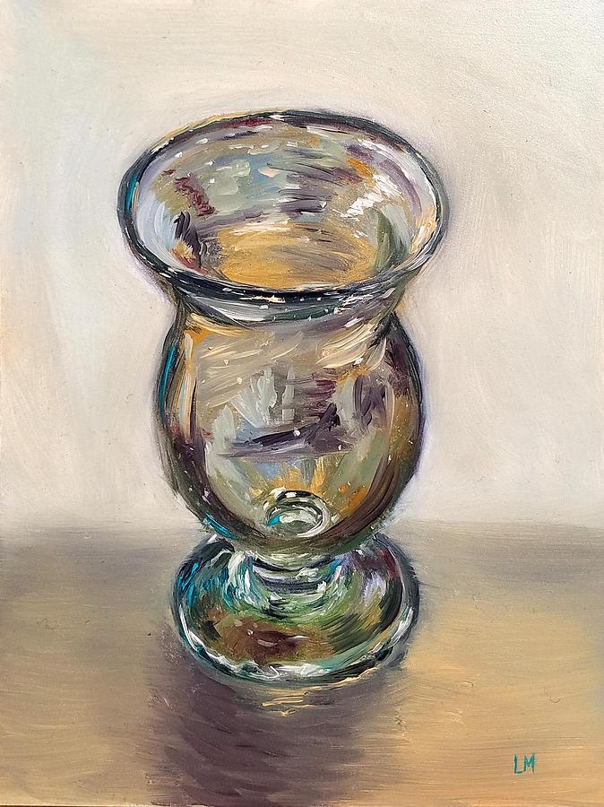 Glass Goblet by Linda Merchant