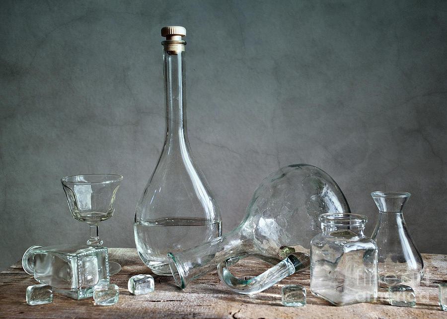 Glass Photograph - Glass by Nailia Schwarz