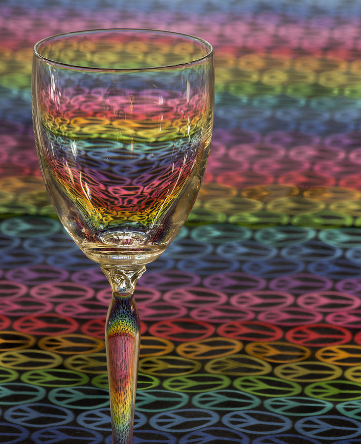 Glass Of Colors Photograph