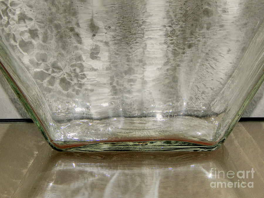 Macro Photograph - Glass On Glass by Phil Perkins