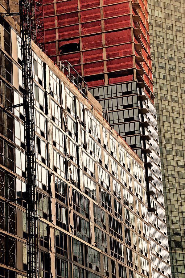 Skyscraper Photograph - Glass Windows by Gillis Cone