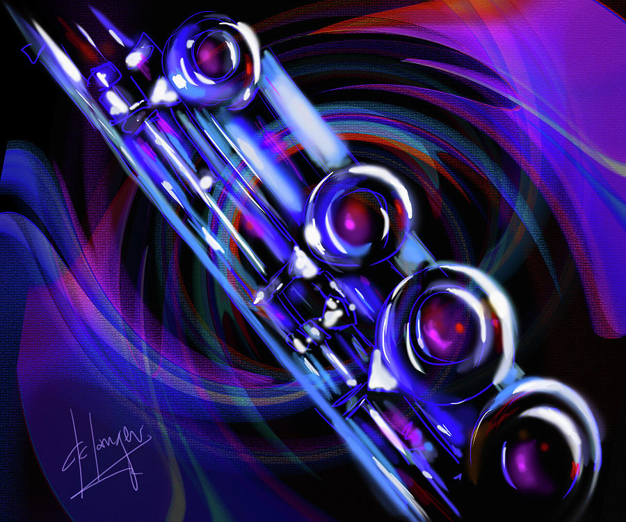 Glassical Flute Painting