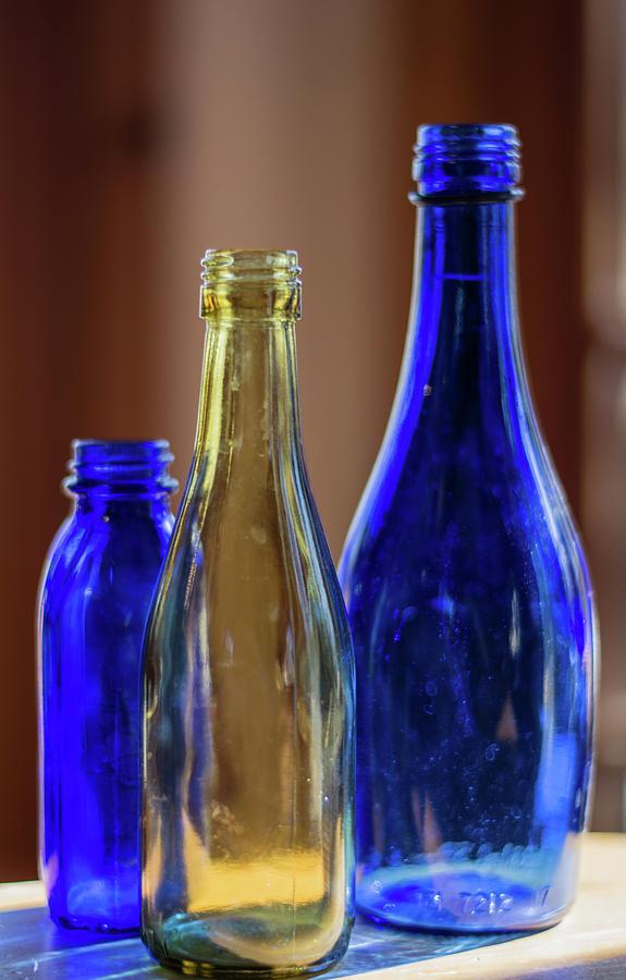 Bottles Photograph - Glassware #2 by Lea Rhea Photography